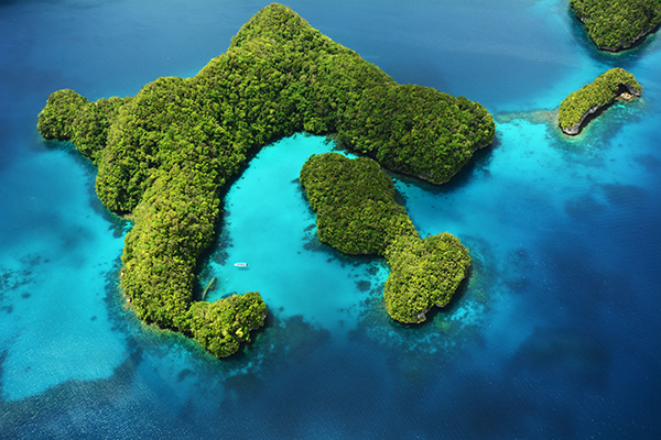 Palau Rock Islands Milky Way