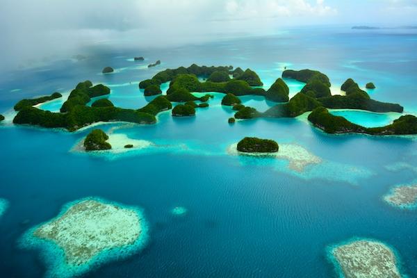 Natural paradise Palau