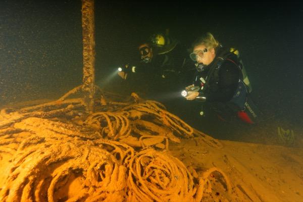 Wreck of Iro Maru