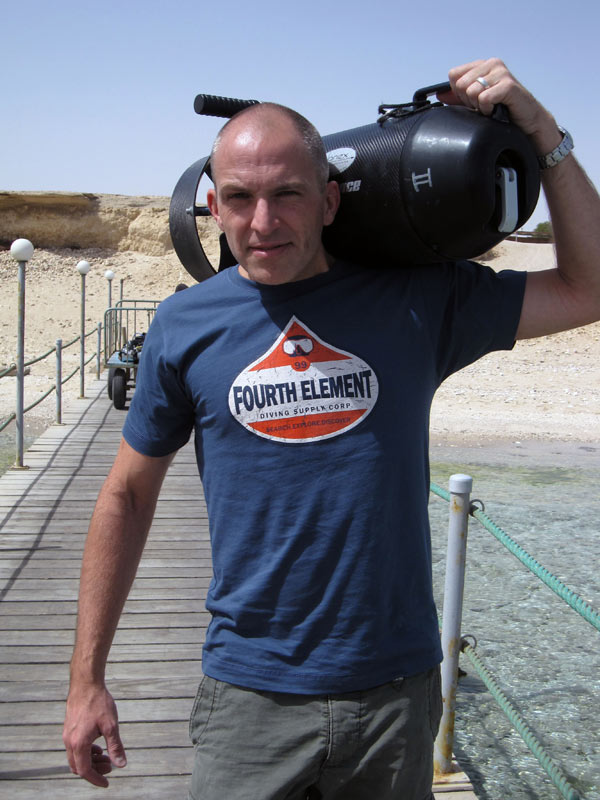 Achim Schloeffel in Egypt