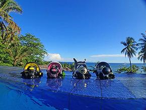 Full Face Masks 4 © Amun Ini Beach Resort & Spa