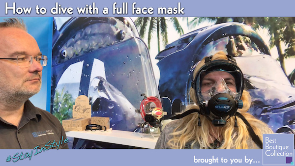 YouTube Video Diving with Full Face Mask