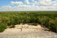 Maya site Calakmul