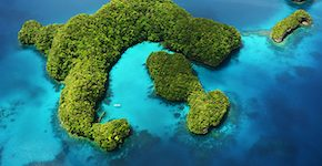 Palau - Rock Islands - Milky Way